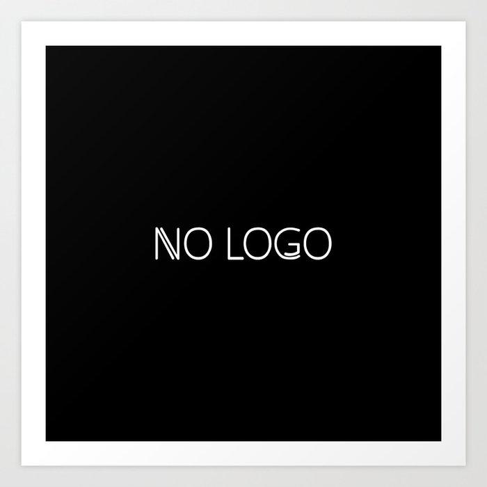 no logo Art Print