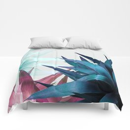 Tropical Leaves, Botanical Comforters