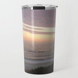 Sunset Atlantic Beach Travel Mug