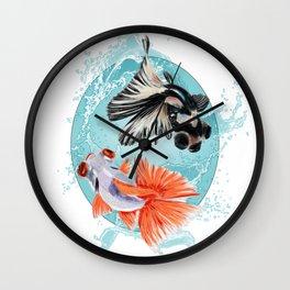 Goldfish Bowl (3 of 3) Wall Clock