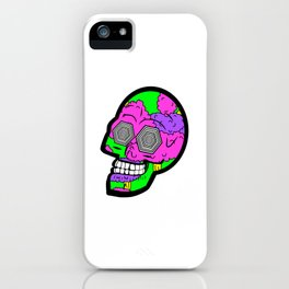 Psych Skull iPhone Case