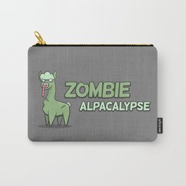 Zombie Alpacalypse Carry-All Pouch