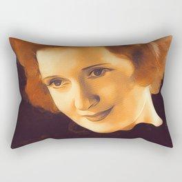 Billie Burke, Hollywood Legend Rectangular Pillow