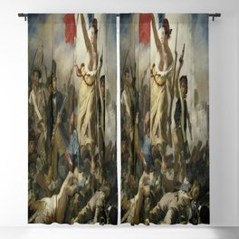 Eugene Delacroix's Liberty Leading the People Blackout Curtain