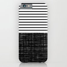 platno (black stripes) iPhone 6s Slim Case
