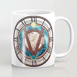 Tick Tock says the Victubia Clock Coffee Mug