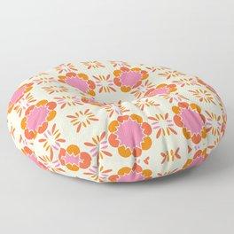 Sixties Tile Floor Pillow