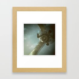 spaceship Framed Art Print
