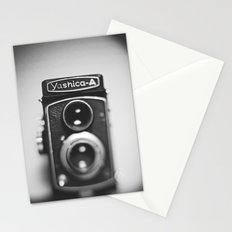 Yashica-A black and white Stationery Cards