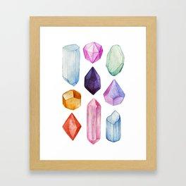 GEMS Framed Art Print