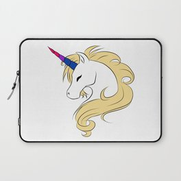 Pride-Corn Bi Laptop Sleeve