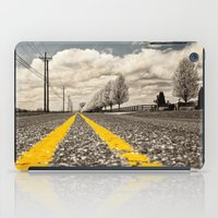 road iPad Cases featuring Road by Color and Patterns