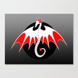Dragon Logo 1 Canvas Print
