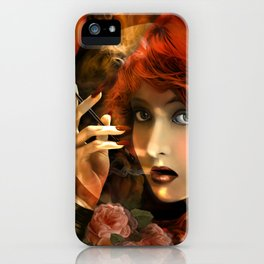Experiment -Lillian Gish- iPhone Case