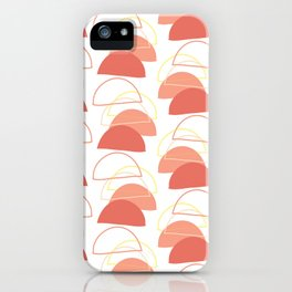 abstract pattern- wishing stones art print, posters, abstract art iPhone Case