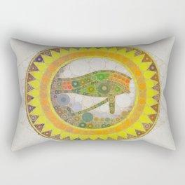 The Eye of Horus Rectangular Pillow