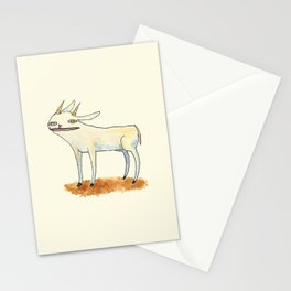 Goat with luscious lips. Stationery Cards