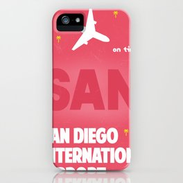 SAN San Diego airport code iPhone Case