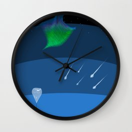 Sputnik Sweetheart Wall Clock