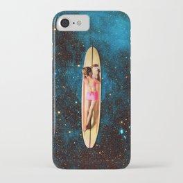 Pleiadian Surfer iPhone Case