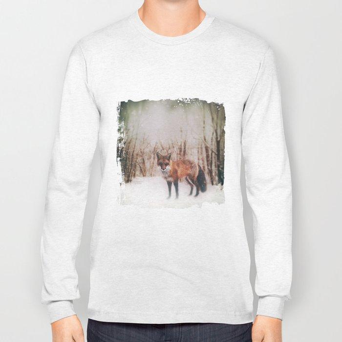 Winter Visitor Long Sleeve T-shirt