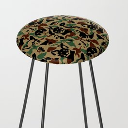 Chihuahua Camouflage Counter Stool