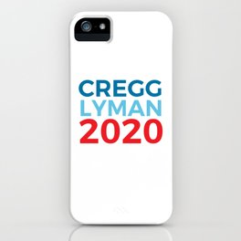 CJ Cregg Josh Lyman 2020 / The West Wing iPhone Case
