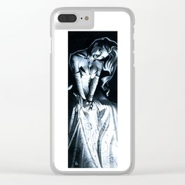 Vamp Seated Clear iPhone Case