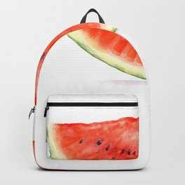 A slice of watermelon (watercolor illustration) Backpack