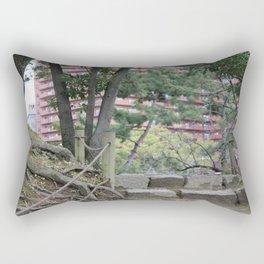 Between Traditional & Modern Rectangular Pillow