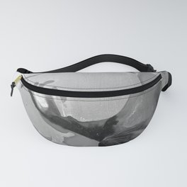 Burn The Flowers for Fuel Grey Fanny Pack