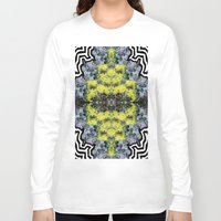 succulents Long Sleeve T-shirts featuring Succulents by saralynn