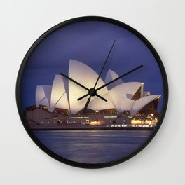 Sydney Opera House Wall Clock