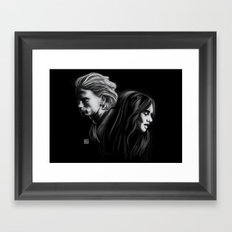 To Love Is To Destroy Framed Art Print