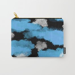 Watercolor blue original pattern Carry-All Pouch