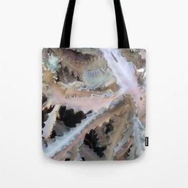 Ghost Cactus Tote Bag