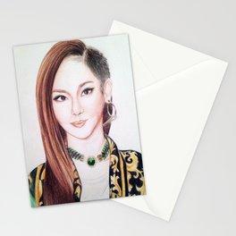 Sandara Park (Dara - 2NE1) Stationery Cards