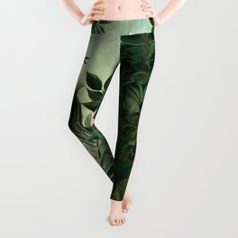 The Equatorial Jungle - Henri Rousseau Leggings