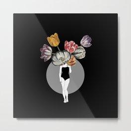 Tulip Queen Metal Print