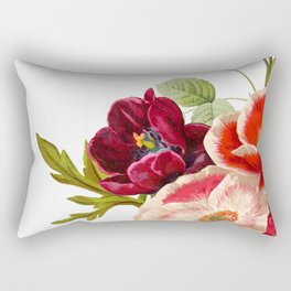 romantic floral design Rectangular Pillow