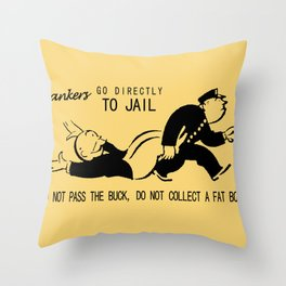 Bankers Throw Pillow