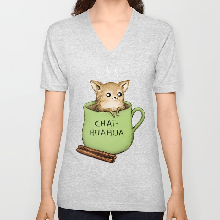 Chaihuahua Unisex V-Neck