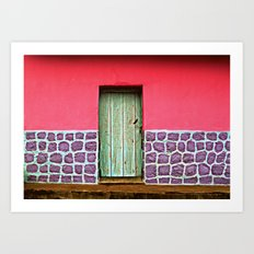 Doorways IV Art Print