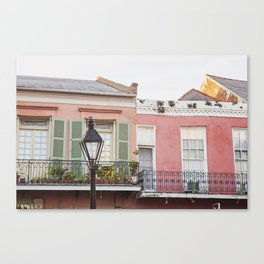 New Orleans Golden Hour in the Quarter Canvas Print