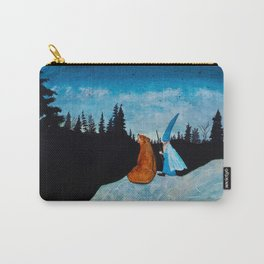 The Bear and the Wizard Carry-All Pouch