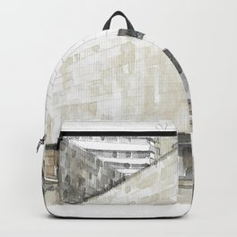 Urban watercolor - Colombia Backpack