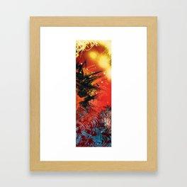 Glorio Galaxy (twins) [right] Framed Art Print
