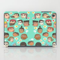 emoji iPad Cases featuring emoji talk by Hugo Lucas