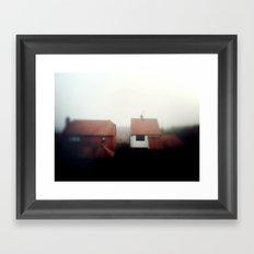 Foggy Day Framed Art Print