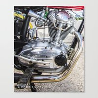ducati Canvas Prints featuring Ducati by Nsmphotography
